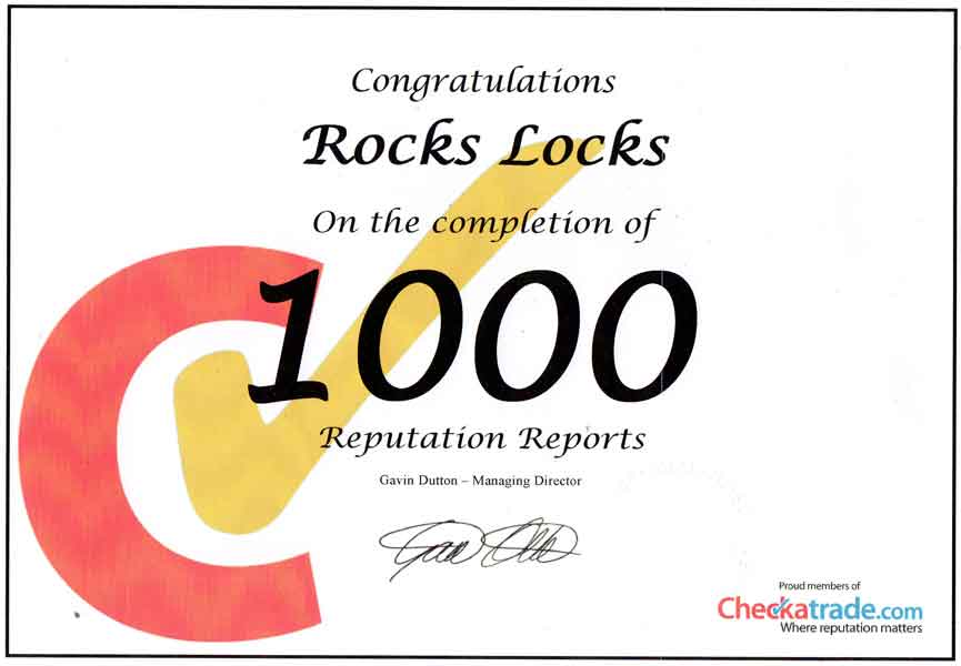 rocks locks checkatrade reviews